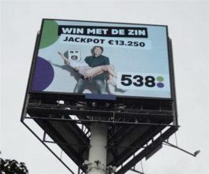win-met-de-zin-538-reclamemast